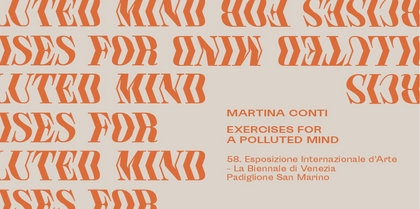 Martina Conti – Exercises for a Polluted Mind