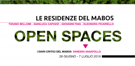 Open spaces – Senze: Le Residenze Artistiche del Mabos 2019