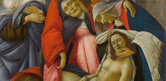 Sandro Botticelli – Compianto sul Cristo morto