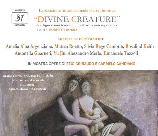 Divine creature. Raffigurazioni femminili  nell'arte contemporanea.