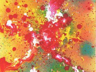 ALLEGRIA Tecnica mista su tela 30X40 Anno 2003 Maria  Pezzica