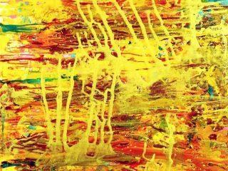 DESIDERIO  D'INFINITO Acrilico su tela 60X80 Anno 2010 Maria   Pezzica