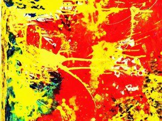 SULL'ONDA DEL PENSIERO Acrilico su tela 60X80 Anno 2009 Maria  Pezzica
