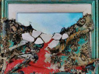 Marmettola, 2020_Mixed media cm.50x60 Partecipa a Focus on Art 2020 a Carrara