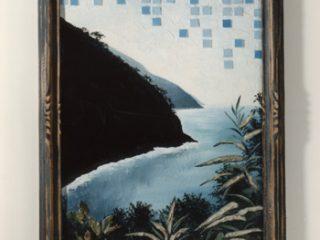 Cielo piastrellato, 1997_Mixed media cm. 55x80