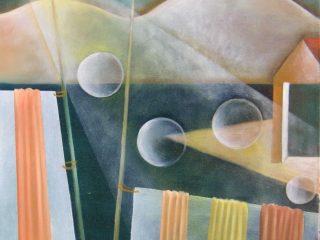 """sospensione temporale"" olio su tela 50x60 PARIGI  Grand Palais Salon des Artistes Independants 1884-2004  Espace Auteuil 4-14 marzo 2004 CATALOGO"