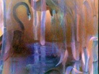 Nebbia nello stagno- elaborato digitale