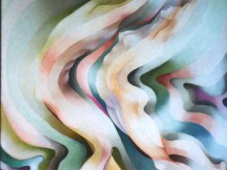 VIBRAZIONI-olio su tela 50x70