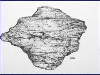 Giovanni  Bonanno - TERRITOIRE/10247 poliestere colorato  base cm. 60x80 - 1981