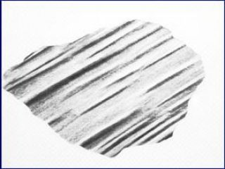 Giovanni  Bonanno - TERRITOIRE: una traccia lunga m.4348 carboncino cm.35x46 - 1982