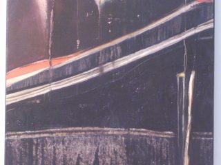 """""""Bagliori notturni"""" Olio su tela - cm. 60x80"""