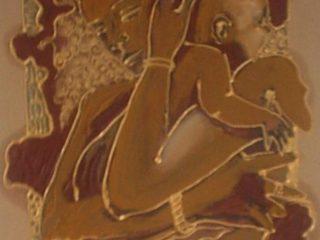 olio e tecnica mista su tela