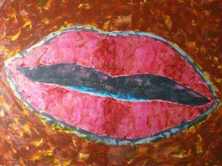 omertà femminile. 2009 Quadro pubblicato