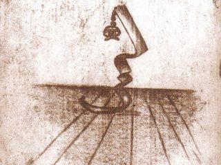 """L'uomo Solitario"" Acqua forte, 2003"