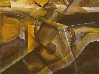 """""""Natura morta"""", 40X60 Acrilico su tela, 2002"""