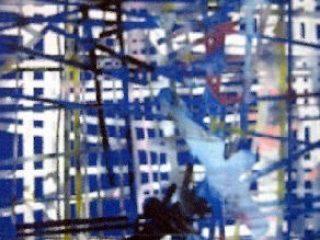 pittura tecnica mista 150x120 anno 1991
