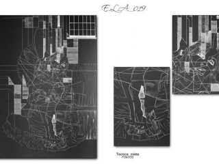 Claudio Fazzini: E.L.A._019 (Anatomia dell'Assenza)