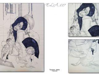 Claudo Fazzini:E.L.A._017(Anatomia dell'Assenza)