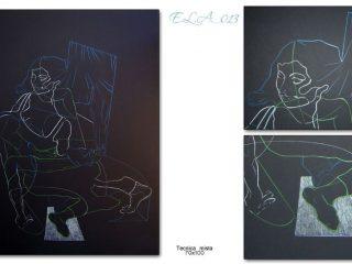 Claudio Fazzini:E.L.A._013(Anatomia dell'Assenza)