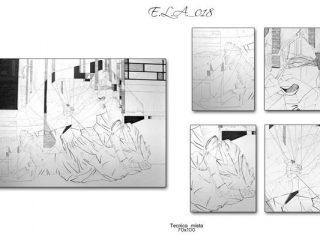 Claudio Fazzini: E.L.A._018 (Anatomia dell'Assenza)