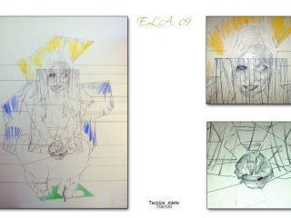 Claudio Fazzini:E.L.A._09(Anatomia dell'Assenza)