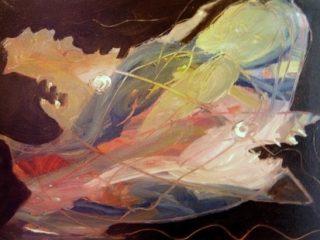 """""""La forza della speranza"""" .Opera esposta  alla galleria Rossocinabro Roma  2012"""