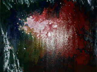 magma 50x50 smalto su tavola