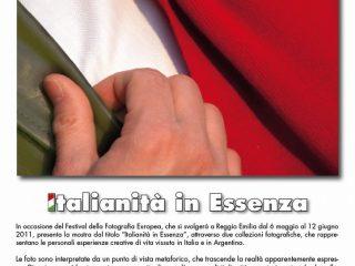Italianità in Essenza, la mia mostra a Reggio Emilia dal 7 al 15 maggio 2011