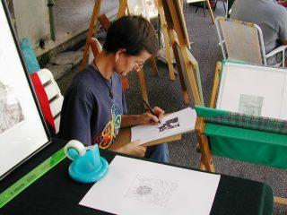 MICHELA DEL TEDESCO di FONTANAFREDDA (PN) disegna per ottimizzare il tempo.