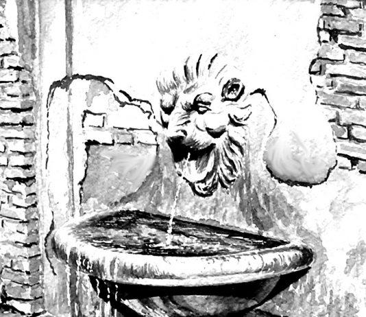 Le fontane di Roma e l'acqua