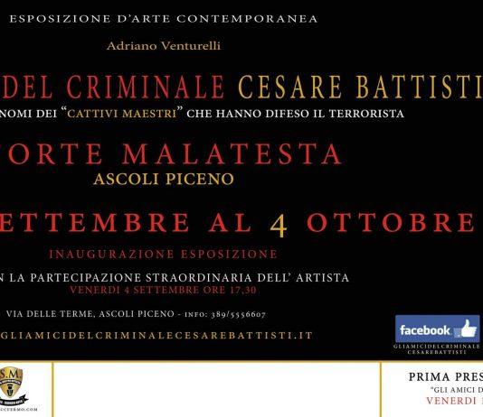 Adriano Venturelli – Gli amici del criminale Cesare Battisti