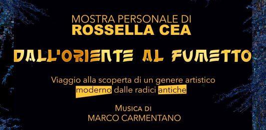 Rossella Cea – Dall'Oriente al fumetto