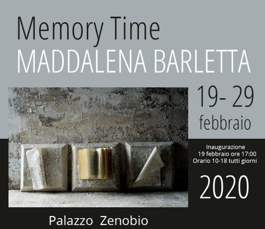 Maddalena Barletta – Memory Time