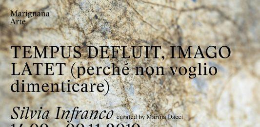 Silvia Infranco – Tempus defluit, imago latet (perché non voglio dimenticare)