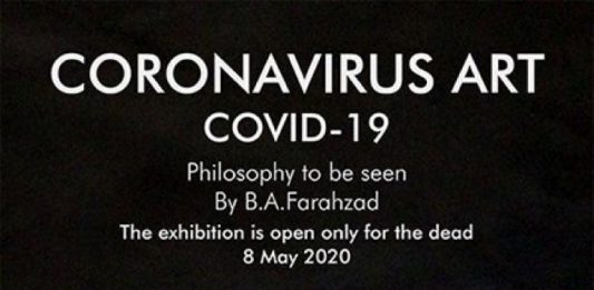 Behnam Ali Farahzad – Coronavirus art Covid-19