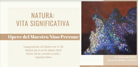 Nino Perrone – Natura, Vita significativa