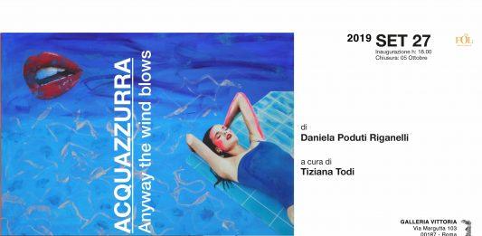 Daniela Poduti Riganelli – Acquazzurra