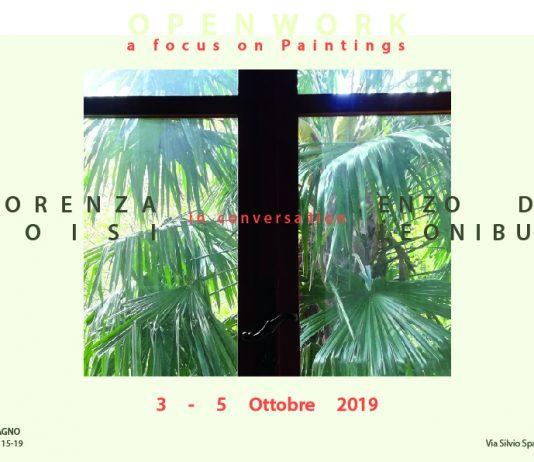 Openwork, focus on painting #8: Lorenza Boisi / Enzo De Leonibus