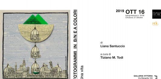 Liana Santuccio – Fotogrammi in b/n e a colori