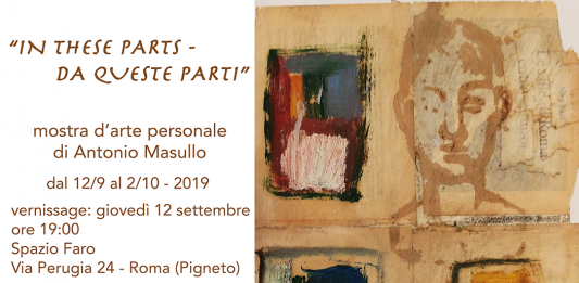 Antonio Masullo  – In these parts / Da queste parti