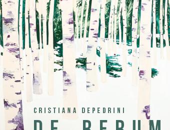 Cristiana Depedrini – De Rerum Natura. Sulla natura delle cose