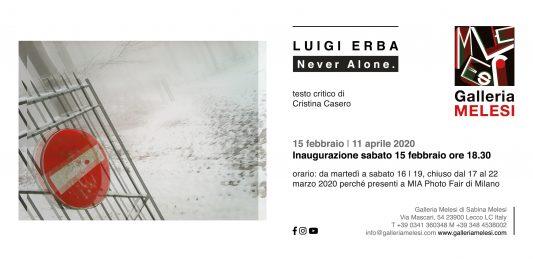 Luigi Erba – Never Alone