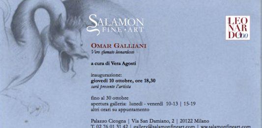 Omar Galliani – Vero Sfumato Leonardesco