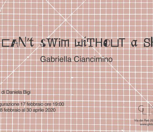 Gabriella Ciancimino – I can't swim without a sky