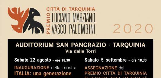 Italia: una generazione. Premio Città di Tarquinia Vasco Palombini 2020