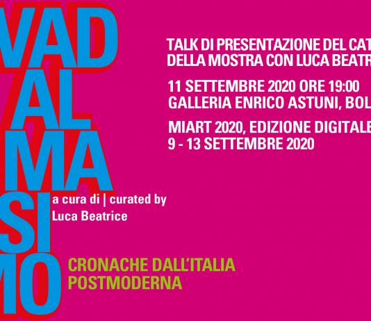Vado al massimo. Cronache dall'Italia postmoderna. Presentazione del catalogo della mostra