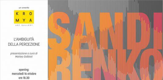 Sandi Renko – L'ambiguità della percezione