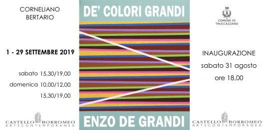 Enzo De Grandi – De' Colori Grandi