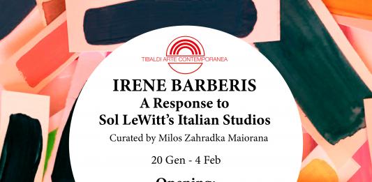 Irene Barberis – A Response to Sol LeWitt's Italian Studios