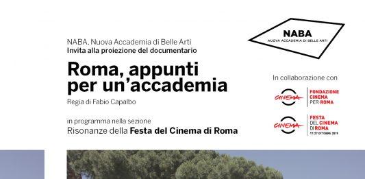 Fabio Capalbo – Roma, appunti per un'accademia